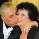 Mario Merola e la moglie