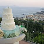 Il taglio della torta da D'Angelo Santa Caterina