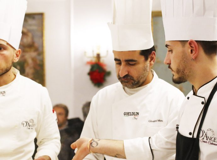I volti della cucina di D'Angelo: Luigi Manzo